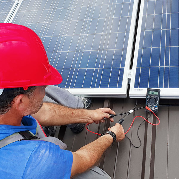 paneles solares madrid
